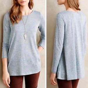 Anthropologie Puella Melette Tunic Sweater